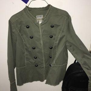 Cute army jacket!